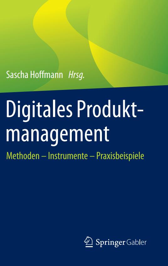 Buchcover - Digitales Produktmanagement